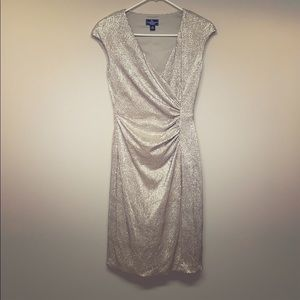 GORGEOUS AMERICAN LIVING CHAMPAGNE DRESS